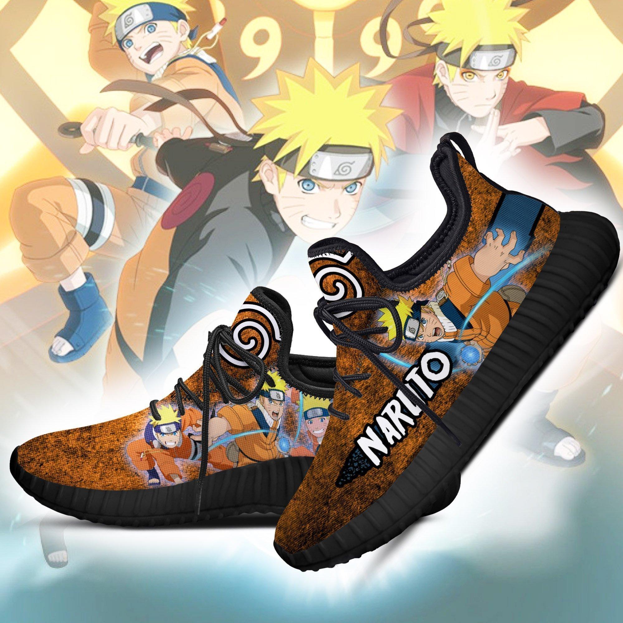 Naruto Jutsu Reze Shoes Naruto Anime Shoes Fan Gift Idea Tt05 Tazazoncom    Kuroprints