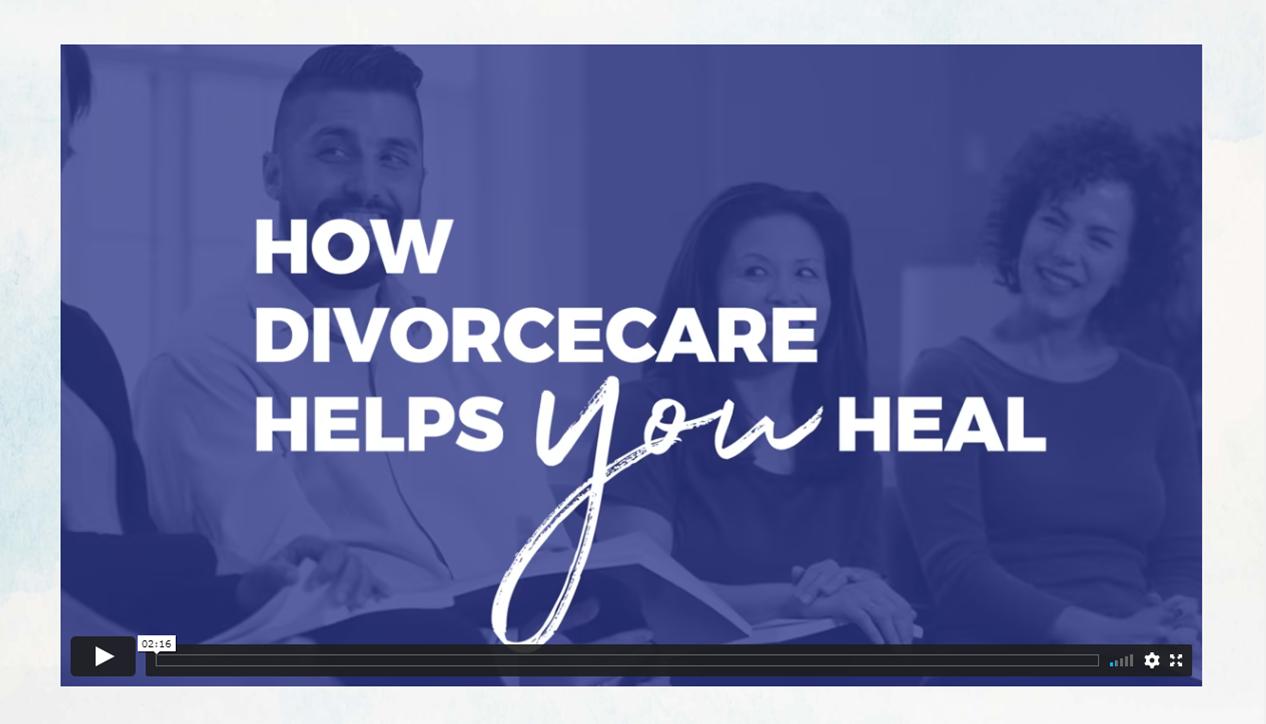 DivorceCare Video