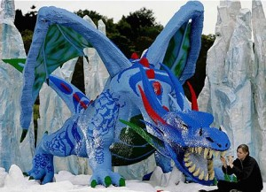 biggest lego model in the world the dragon 010907 300x217