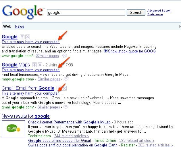 googlemalware