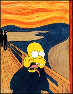 simpsons scream 235x300