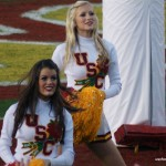 More USC Song Girls at the 2009 Rose Bowl