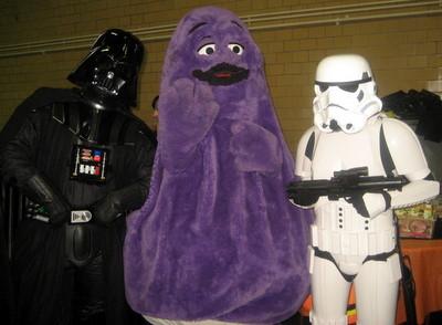 2008 10 nyc darth vader grimace stormtrooper 1