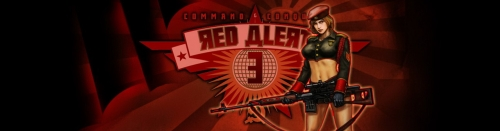 command and conquer red alert 3 art logo news banner