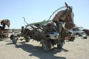metal horse 300x200