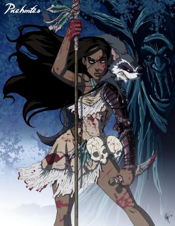 Twisted Pocahontas 560x724