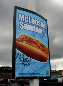 mclobster sign 218x300