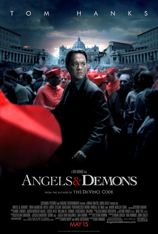 new angels and demons poster