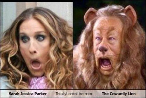 sarah jessia parker cowardly lion