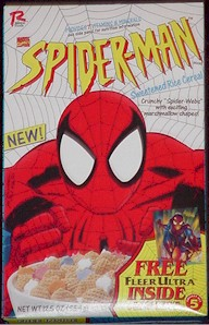 spiderman cereal