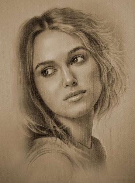 actress pencil drawings 3