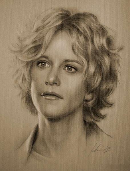 actress pencil drawings 4