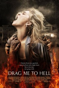 drag me to hell poster 202x300