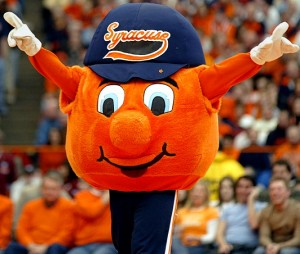 syracuse orange mascot 300x254