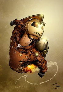 the rocketeer by seane 206x300