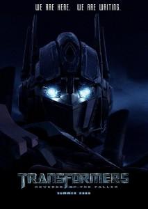 transformers revenge of the fallen poster 213x300