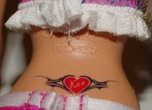barbie tramp stamp 300x217