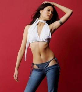 bikini jeans model 269x300