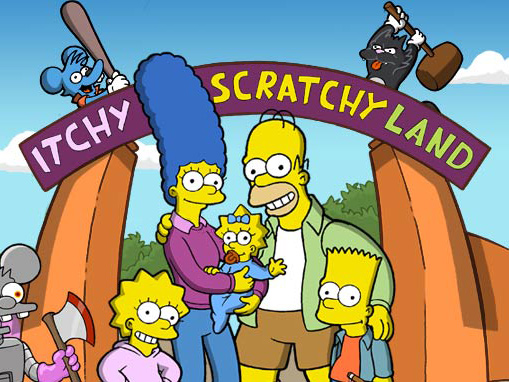 itchy scratchy land