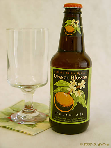 usa buffalo bill brewery orange blossom cream ale