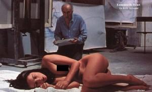 Emmanuelle Beart nude La Belle Noiseuse 300x182