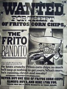 Frito Bandit 225x300