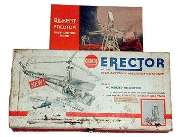 Gilbert Erector Helicopter set