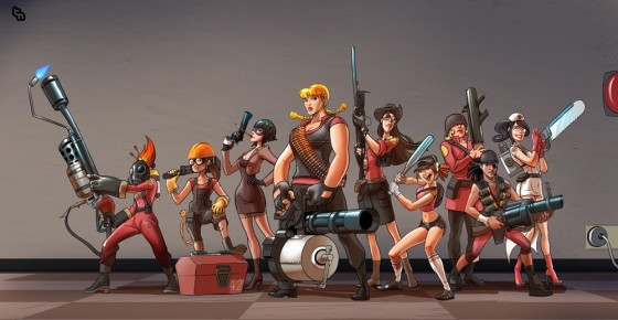 Sexy Team Fortress 1 560x290