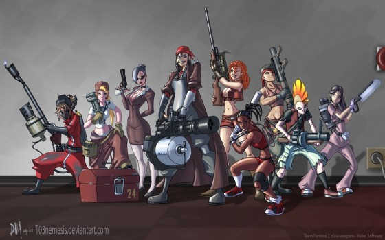 Sexy Team Fortress 2 560x350
