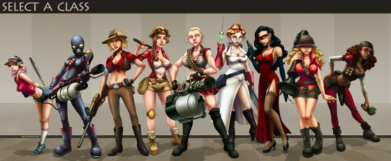 Sexy Team Fortress 4 560x231
