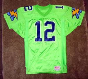 Orlando Thunder jersey