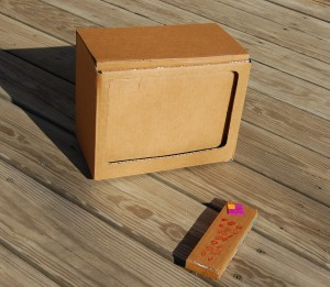 cardboard television 300x261