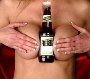 free beer 300x264