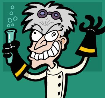 20071017 Mad scientist caricature