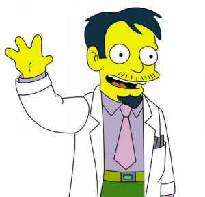 Dr Nick Simpsons 300x288