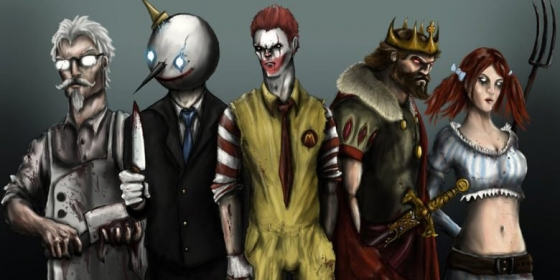 Fast Food Characters 560x280