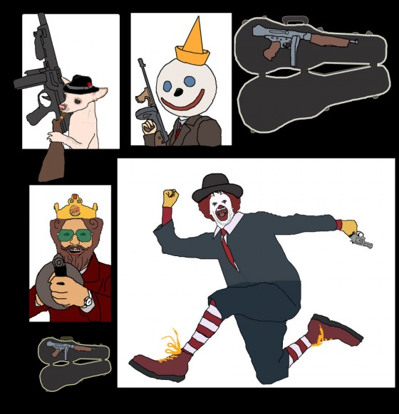 The Fast Food Mafia 2 by James The Nose 560x582