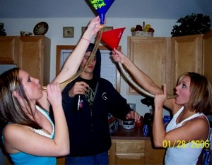 girl beer bongs 08 300x234