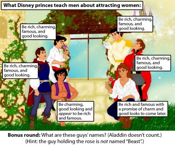 Disney Princes 560x472