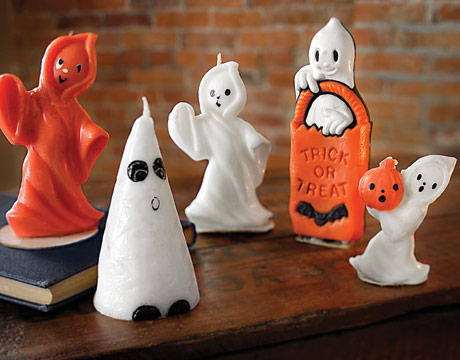 Vintage Ghost Halloween Candles PROF1006 de