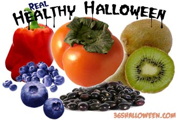 healthy halloweenfruit