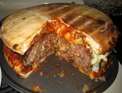 most fattening food in the world burger pizza1