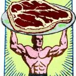 Artist's Rendering : Not Actual Steak-Man
