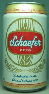 SCHAEFER BEER CAN+ 157x300