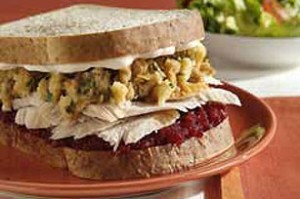 The Ultimate Leftover Turkey Sandwich 300x199