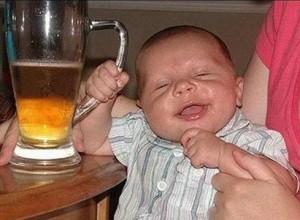beer drunk baby 300x220