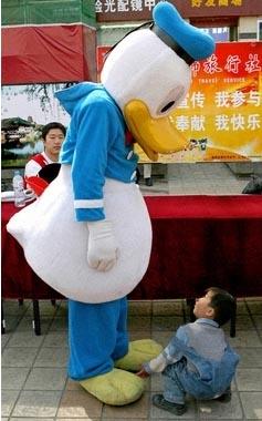 fake donald duck