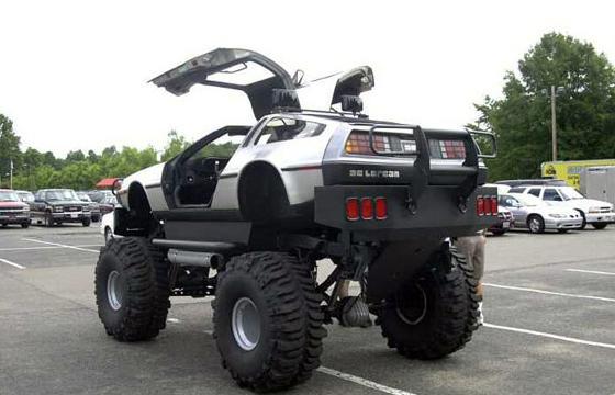 DeLorean Monster Truck
