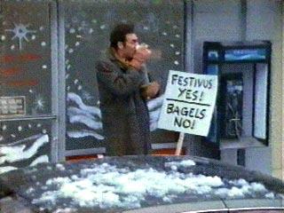 festivus yes bagels no
