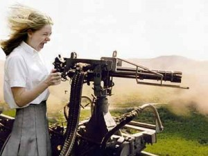 gatling gun little schoolgirl400 300x225